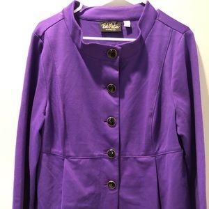 Bob Mackie purple top